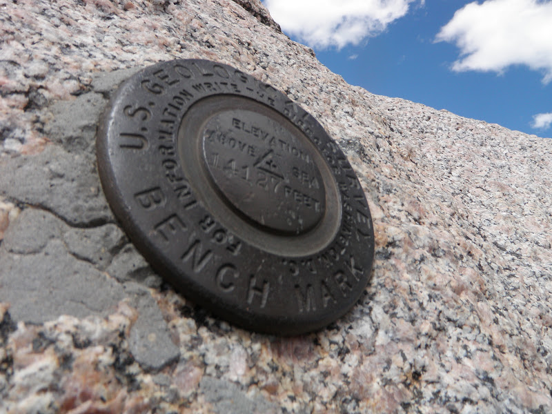 Mount Evans • Summit Marker