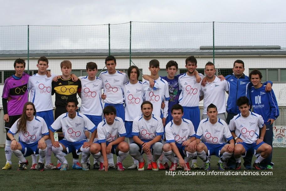 CD Cariño. Ida Semifinal Copa Delegación de Ferrol. Cariño, 1- Numancia, 0. Municipal de Cariño. (Imágen cedida por CD Cariño)