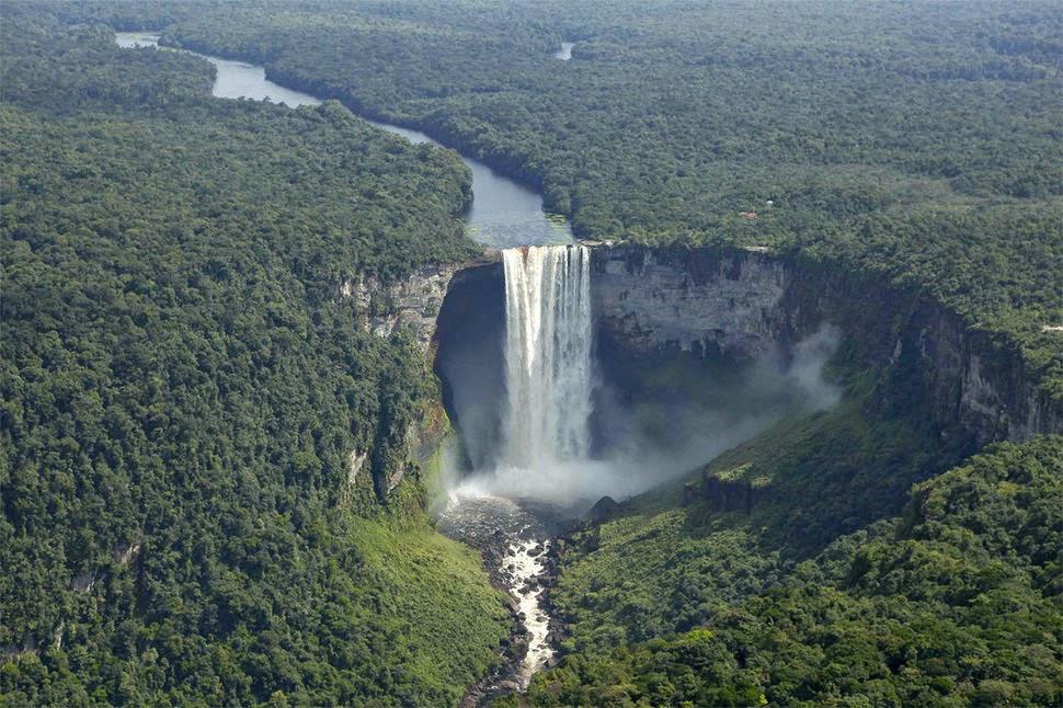Кайетур, Гайана, Красивые водопады планеты