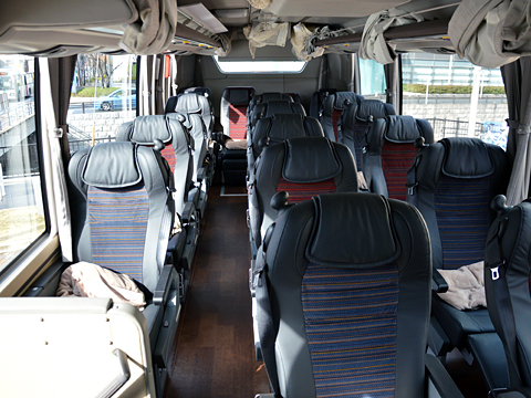 西日本鉄道「はかた号」 0002 ビジネスシート その1