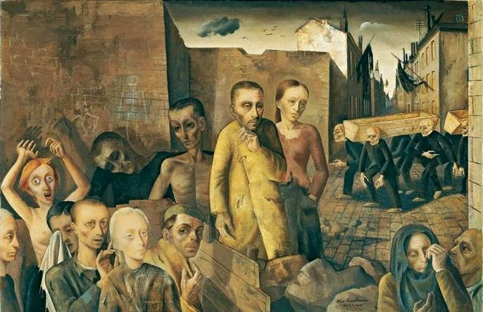 Felix Nussbaum - The Damned
