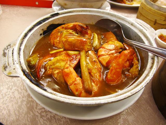草蝦粉絲煲-大大茶樓台中港式飲茶