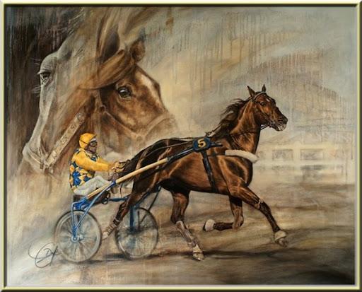 Ourasi en peinture