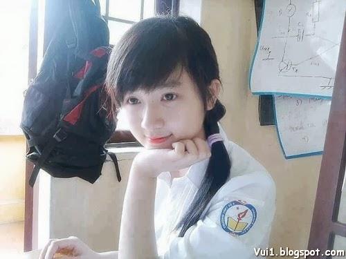 Ảnh Girl Xinh 9x Cực Cute, Có Nét Đẹp Baby - hình 4