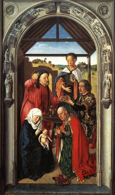 Dieric Bouts - Adoration of the Magi