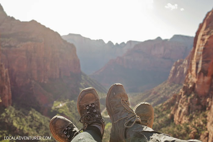 Canyon Overlook Trail (15 Best Hikes in Zion National Park Utah).