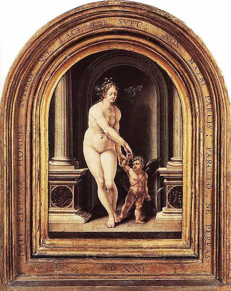 Jan Mabuse - Venus and Cupid