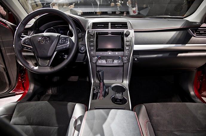 Hình ảnh xe Toyota Camry 2015