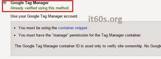 Cách xác minh Website Wordpress trong Webmaster tools 18