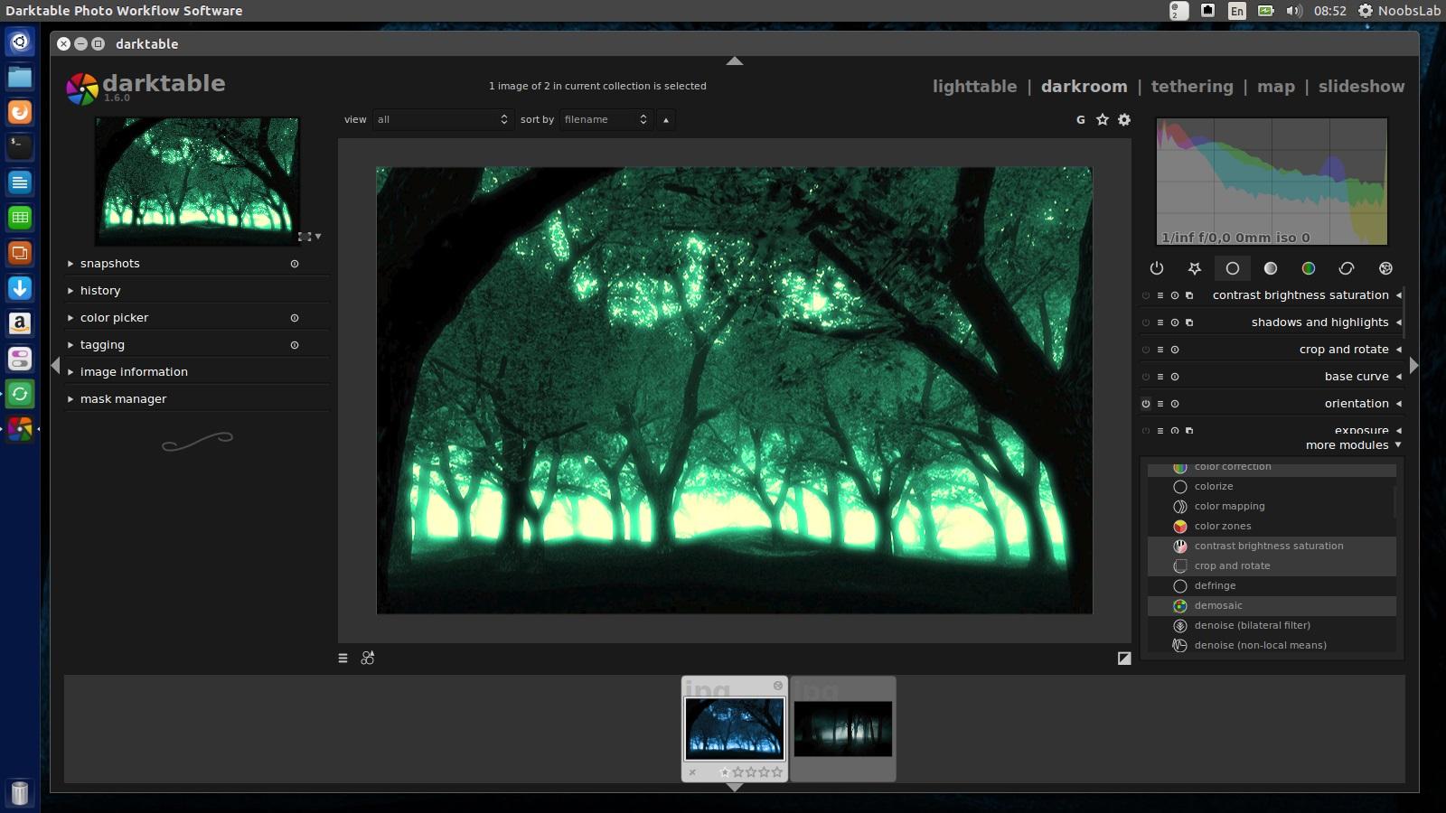 Darktable 1 6 Version Released, Install In Ubuntu/Linux Mint