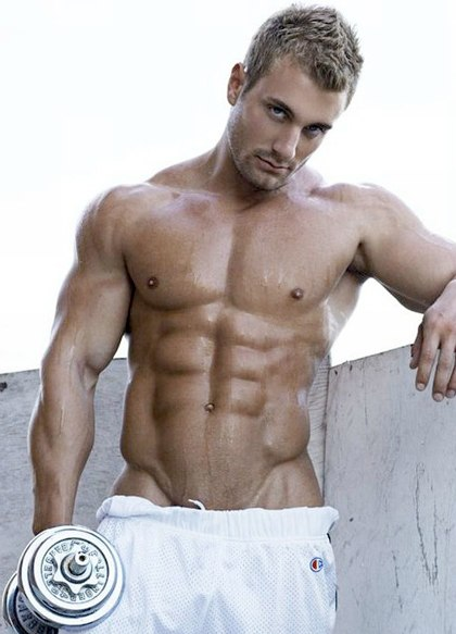 Guys with Sexy Six Pack Abs - Part 3