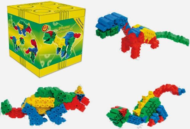 Bộ xếp hình Morphun Hình Khủng Long - mã 52111 tạo được 6 hình khủng long