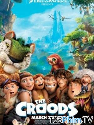 Phim Cuộc Phiêu Lưu Của Nhà Croods - The Croods