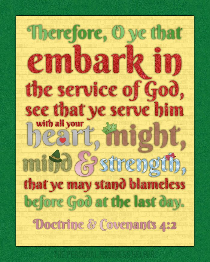 2015 Youth Theme Poster: Embark in the Service of God