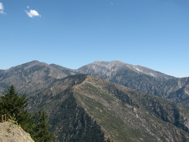 Pine Mt. and Baldy