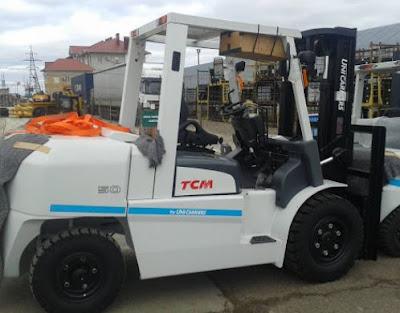 Xe nâng TCM 5 tấn FD50T9