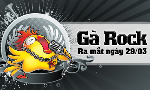GameLandVN tặng 500 giftcode Gà Rock (Gunny) 2