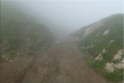 Descenso ruta normal