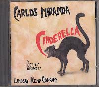 CARLOS MIRANDA - CINDERELLA CD cover