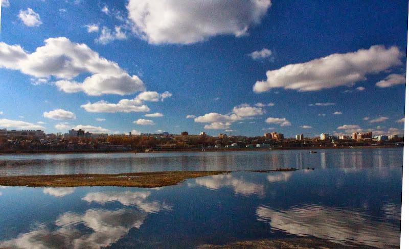 Angkara Riverbank Irkutsk Russia