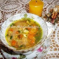 zupa curry z kluseczkami