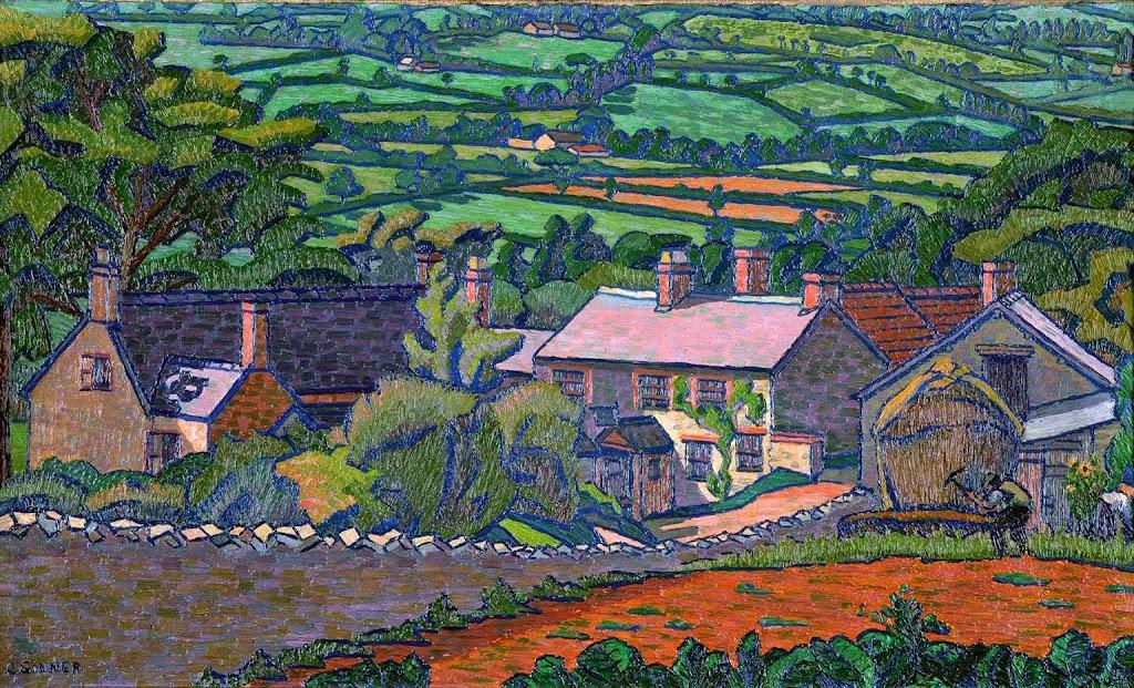 Charles Ginner - Clayhidon, Devon