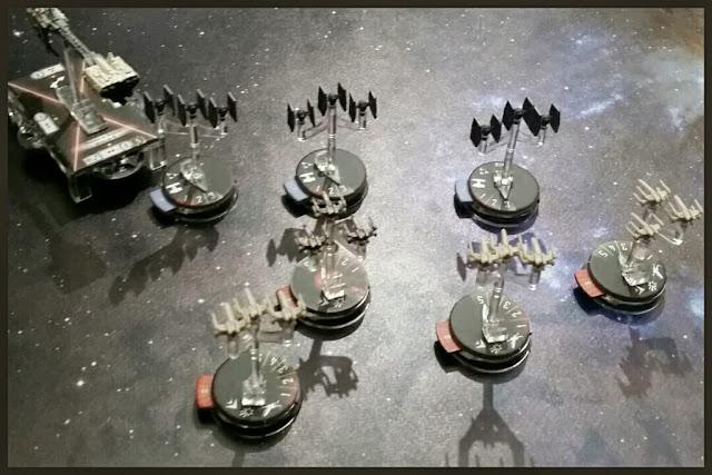 cazas de Star Wars Armada