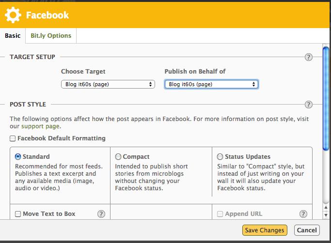 Cách tự động đăng bài viết lên facebook đơn giản 9