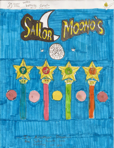 Sailor Moon cereal box idea