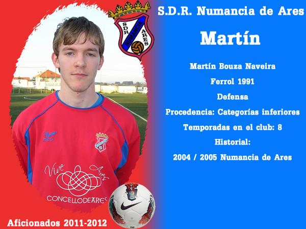 A.D.R. Numanciad de Ares. Martín.