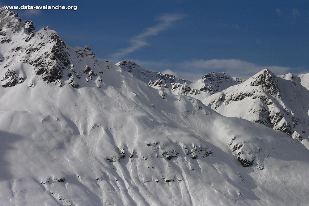 Avalanche Haute Maurienne, secteur Pointe de Méan Martin, La Met - Photo 1 - © Duclos Alain