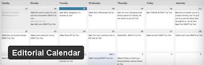 """editorial calendar plugin"""