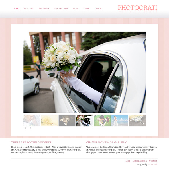 Prime WordPress Wedding Theme