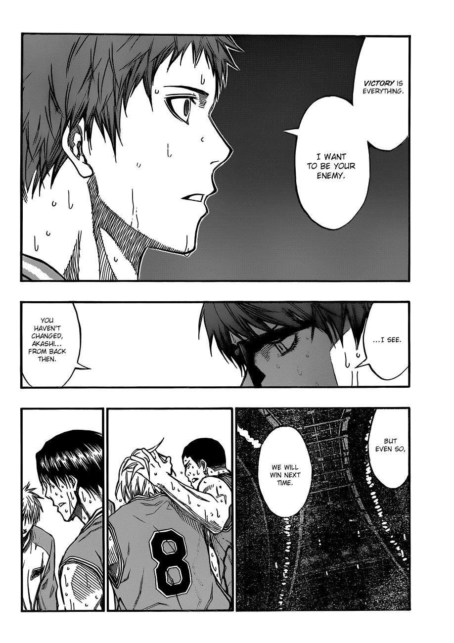 Kuroko no Basket Manga Chapter 183 - Image 06