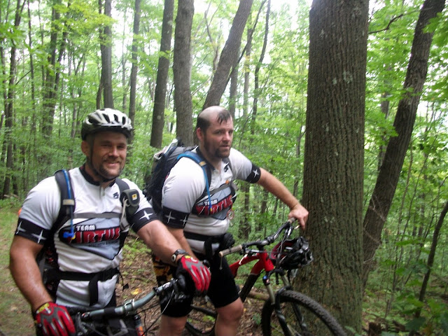 Sweat on the Baughman Trail in Ohiopyle