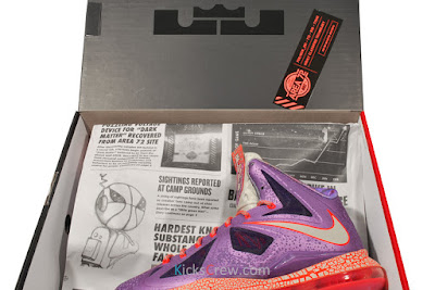 nike lebron 10 gr allstar galaxy 4 07 Nike Upgrades LEBRON X ALLSTAR Area 72 with $200 Price Tag