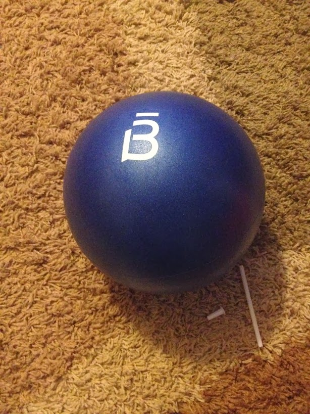 Barre3 core ball