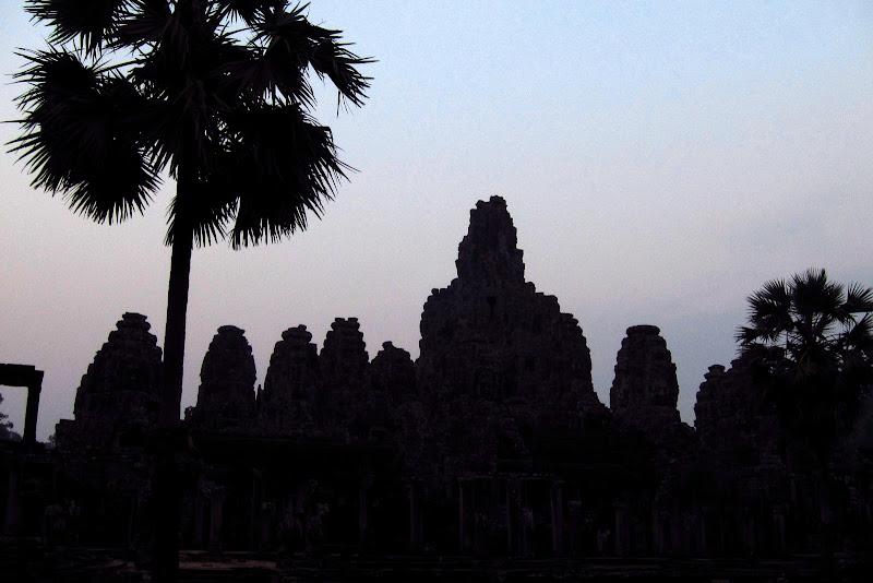 Bayon silhouette