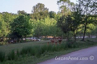 Sakarya Poyrazlar Gölü'nde piknik