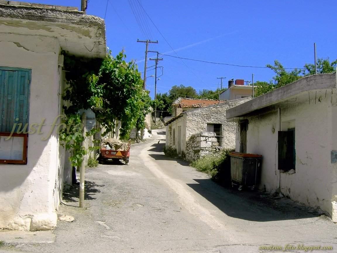 Крит старые деревни на плато Лассити фото