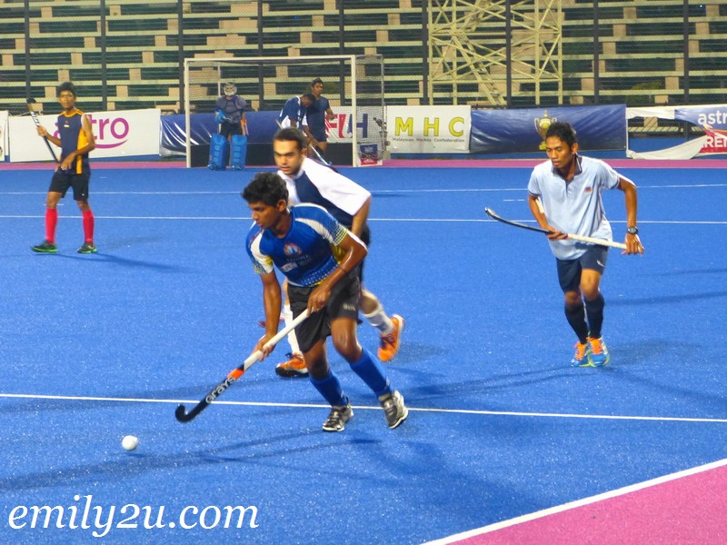 Ipoh Lads friendly hockey match