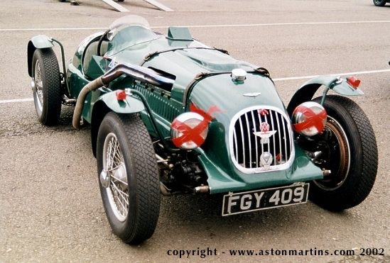 Aston Martin Speed Model, спецверсия для Ричарда Симэна, 1936 г.