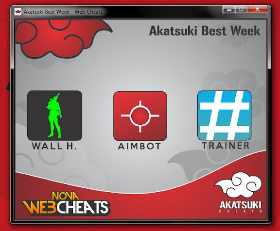[A] Akatsuki Best Week #001 - Aimbot + Wall + Trainer - por Wizaard Print1