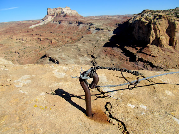 Anchor at the end of the mining road