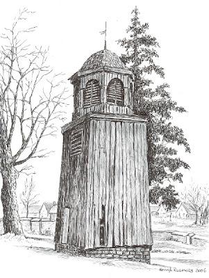 Zabytkowa dzwonnica z ok. 1791 - 1794 roku