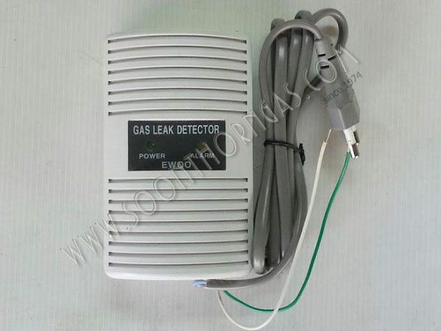 เครื่องเตือนแก๊สรั่ว (GAS LEAK DETECTOR) EWOO รุ่น EW-301 R