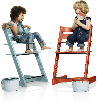 tripp trapp de stokke 2 nouvelles couleurs tendances cubes petits pois. Black Bedroom Furniture Sets. Home Design Ideas
