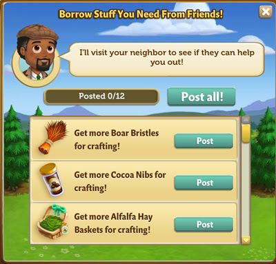 farmville 2 free items