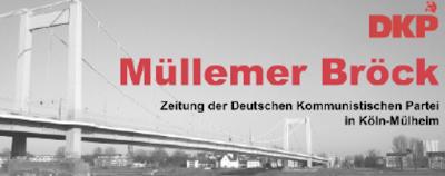 Zeitungskopf: »Müllemer Bröck«.