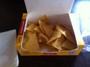 Nachos to Go fresh from the microwave